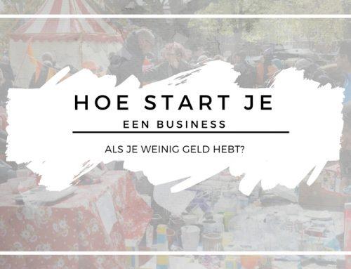 Hoe start je een business als je weinig geld hebt