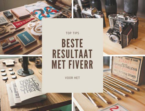 Uitbesteden aan Fiverr – 5 tips voor het beste resultaat