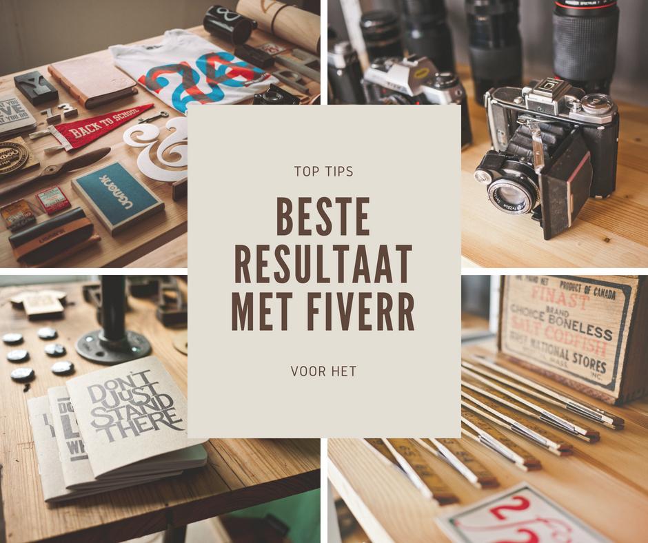 5 tips voor het beste resultaat met Fiverr