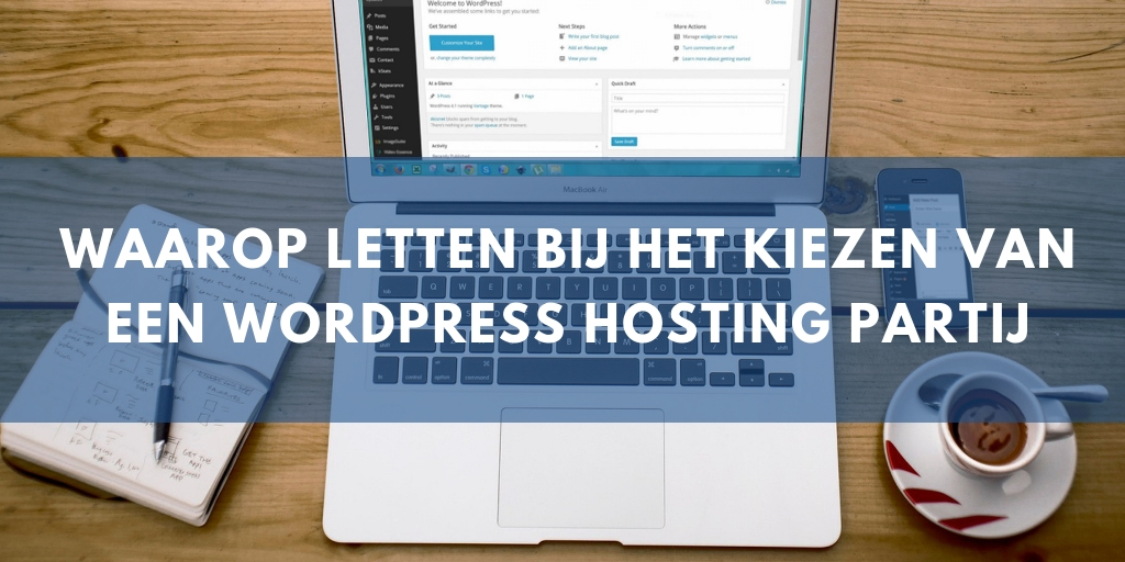 WordPress hosting advies