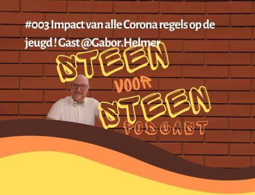 #003 Welke impact heeft het Corona virus op de jeugd en hoe ga je daarmee om?