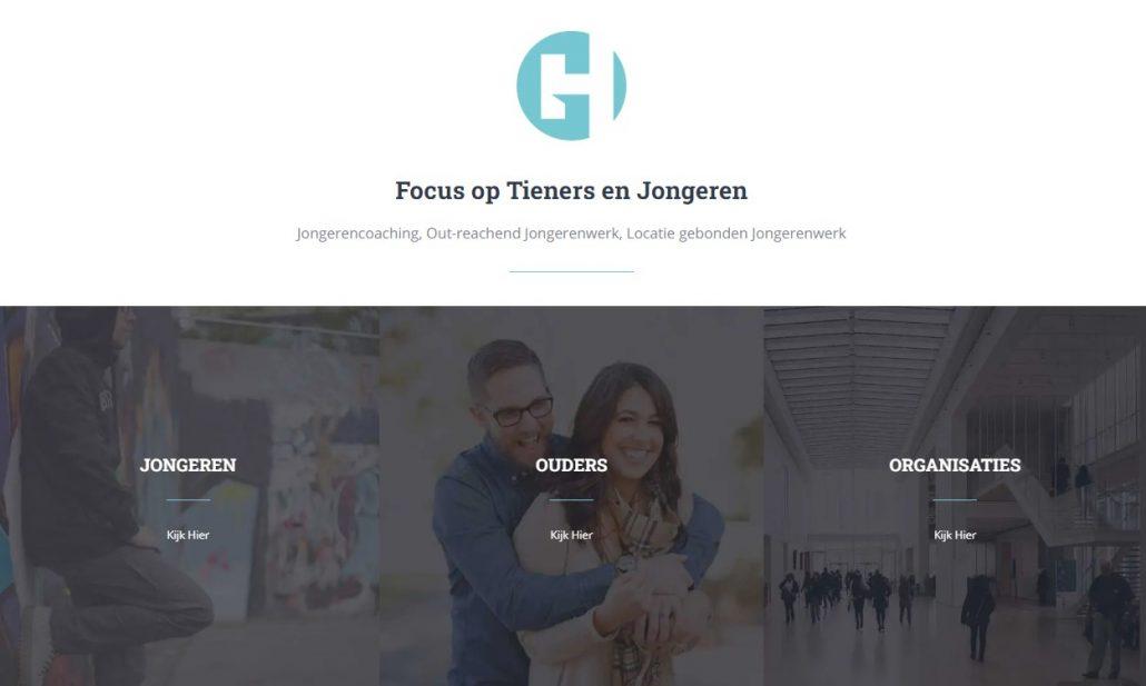 Website voor coaches en trainers gaborhelmer.com